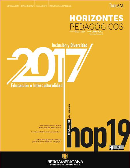 HOP   Horizontes Pedagógicos   2017-2